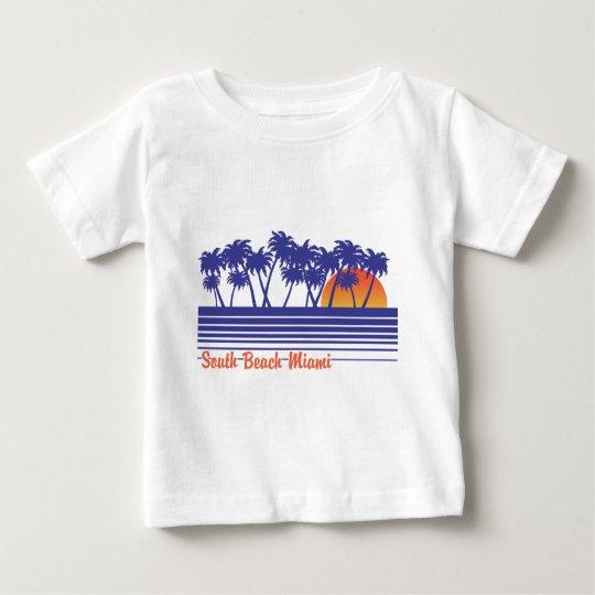 South Beach Miami Baby T-Shirt