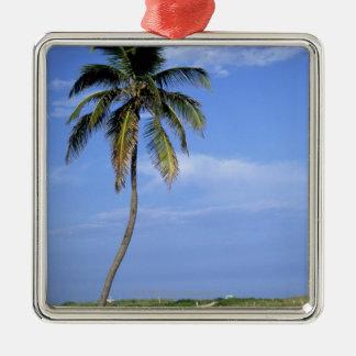 South Beach, Miami Beach, Florida, USA Metal Ornament