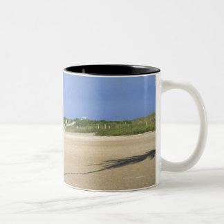 South Beach, Miami Beach, Florida, USA Two-Tone Coffee Mug