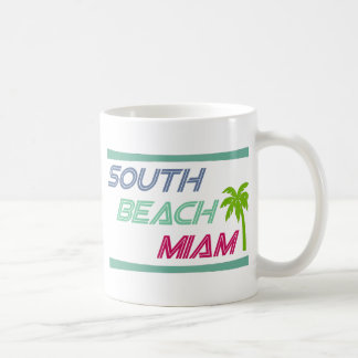 South Beach Miami by U.S. Custom Ink Coffee Mug