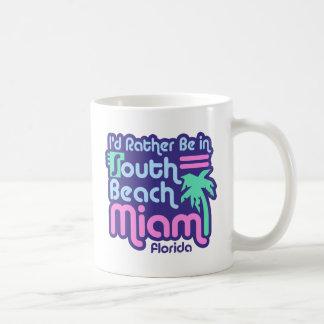 South Beach Miami Coffee Mug