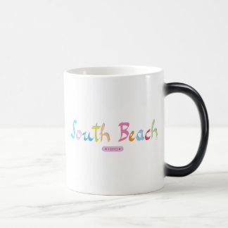 South Beach, Miami  FL Magic Mug