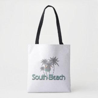 South Beach Miami, FL, Tropical, Cool Tote Bag