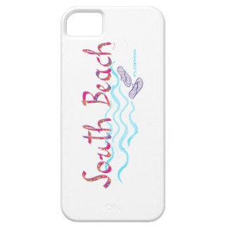 South Beach Miami Flip Flops iPhone SE/5/5s Case