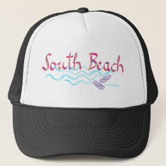 South Beach Miami Flip Flops Trucker Hat