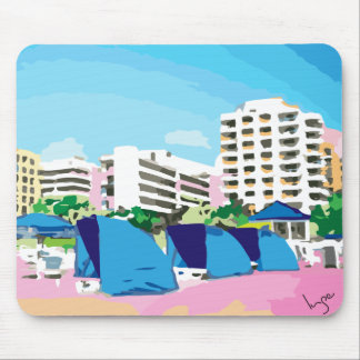 SOUTH BEACH, MIAMI, FLORIDA Mouse Pad