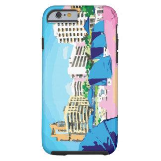 SOUTH BEACH, MIAMI, FLORIDA TOUGH iPhone 6 CASE