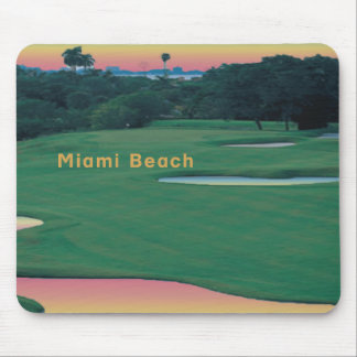 South Beach - Miami GOLF Mouse Pad