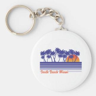 South Beach Miami Key Chains