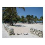 South Beach, Miami Post Card