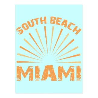 SOUTH BEACH MIAMI POSTCARD