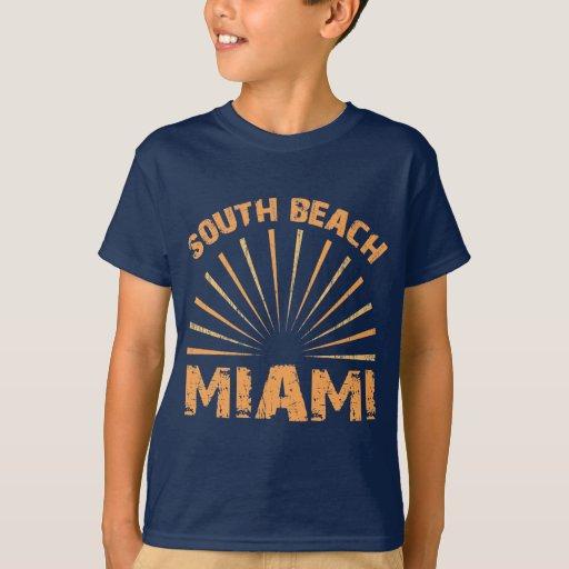 South beach miami t shirt zazzle for T shirt printing miami fl