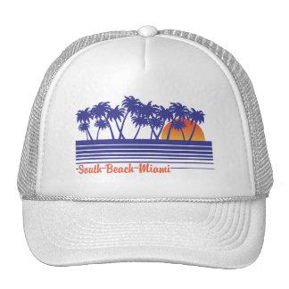 South Beach Miami Trucker Hat