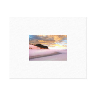 south beach moods canvas print