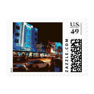 South Beach Nightclub, Miami Souls Postage Stamps