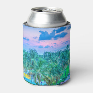South Beach Photography Can Cooler