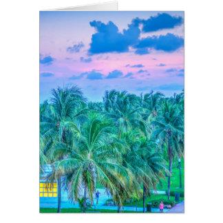 South Beach Photography Card
