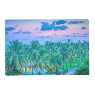 South Beach Photography Placemat
