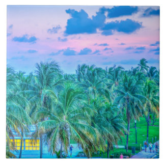 South Beach Photography Tile