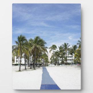 South Beach Plaque