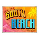 SOUTH BEACH POSTCARD