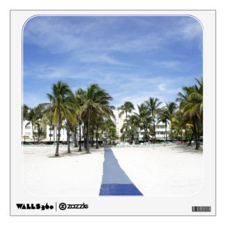 South Beach Wall Decal