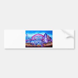 South Belfast featuring Lyric Theatre & Kings Hall Bumper Sticker