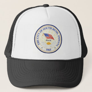 South Bend Indiana Seal Trucker Hat