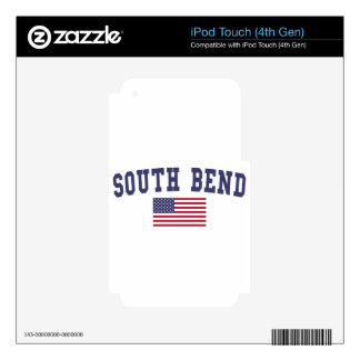 South Bend US Flag Decals For iPod Touch 4G