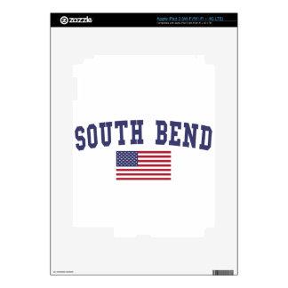 South Bend US Flag iPad 3 Skins