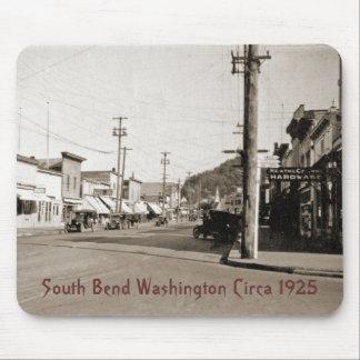 South Bend Washington circa 1925 Mousepads