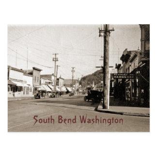 South Bend Washington circa 1925 Postal
