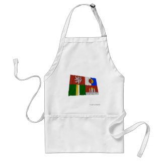 South Bohemia Waving Flag Aprons