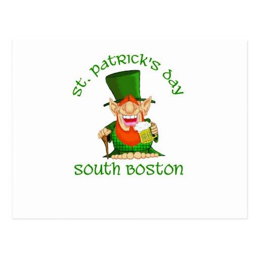 ~South Boston del día del St Patricks Postal