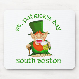 ~South Boston del día del St Patricks Alfombrilla De Ratón