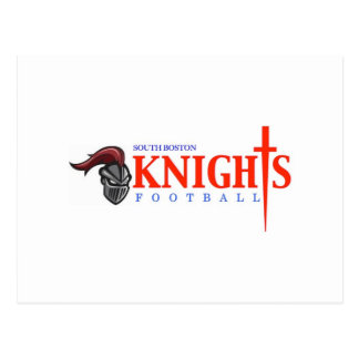 South Boston Knights Postcard