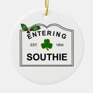 South Boston MA Ceramic Ornament