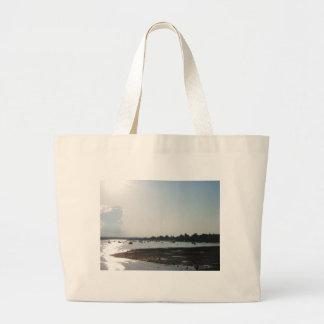 South Boston Sunset Jumbo Tote Bag