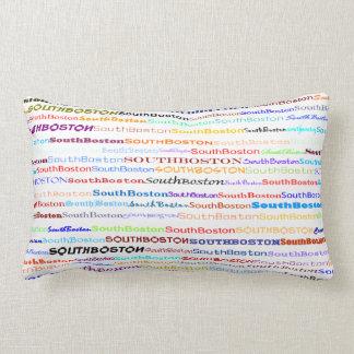 South Boston Text Design II Lumbar Pillow