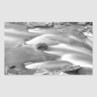 South Boulder Creek Little Waterfalls Rollinsville Rectangular Sticker