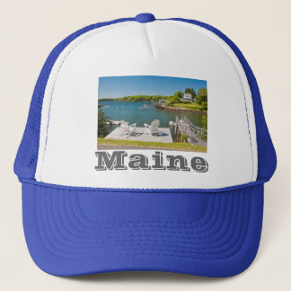 South Bristol on The Coast Of Maine Trucker Hat