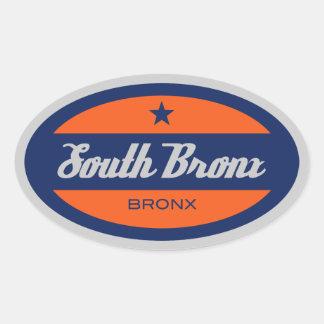 South Bronx Oval Sticker