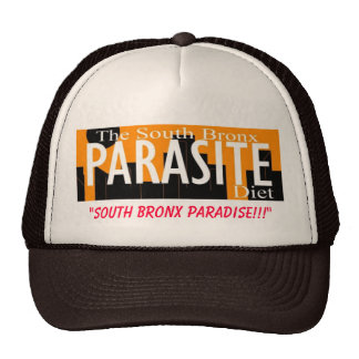 """SOUTH BRONX PARADISE!!!"" TRUCKER HAT"