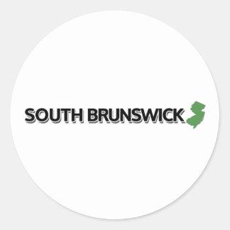 South Brunswick, New Jersey Classic Round Sticker