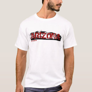 South Butte Arizona Red, Black, and White T T-Shirt