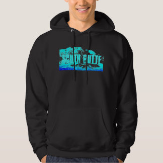 South Butte Blue on Blue Mountain Hoodie