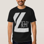 South Butte Double Line Dark T T Shirt