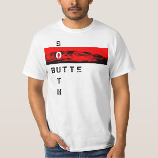 "South Butte ""O"" Red White Shirt"