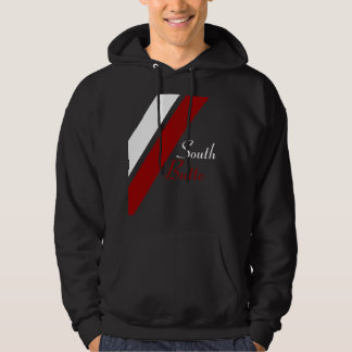 South Butte Red & White Double Line Classic Hoodie