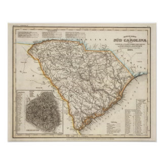 South Carolina 3 Print